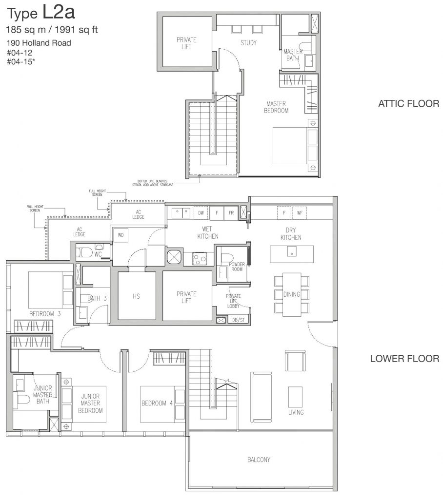 Van Holland Floor Plan 61006282 Singapore